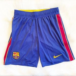 NIKE BARCELONA HOME SHORTS 2020-2021